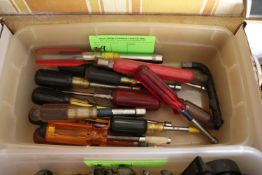 Group of hex screwdrivers