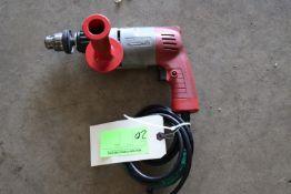 """Milwaukee 3/8"""" hammer drill, model CEJD"""