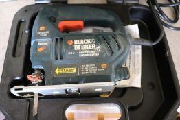 Black & Decker jigsaw model JS300, in case