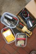 Miscellaneous electrical testers