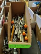 Precision screwdrivers and other precision instruments