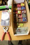 Miscellaneous electronics supplies, end caps, fuses, etc.