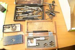 Two calipers and other miscellaneous