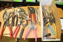 Wrenches, clamp, punch and eyelet setter and other miscellaneous
