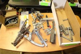 Miscellaneous clamps and pullers