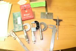 Calipers and precision instruments