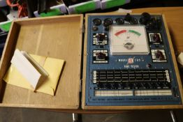 Vintage Electronic Measurements Corporation tube tester, model 205