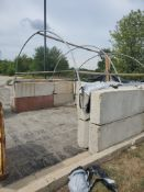 Salt tub with hoops 16'x12'x9'