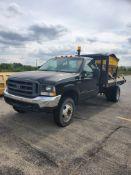 2000 Ford F450 Power Stroke v8 Diesel Flat Bed 236154 miles Vin #1FDXF46F4YEE07359