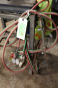 Cutting torch, gauge and hose