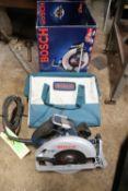 Bosch CS10 15-amp circular saw with case
