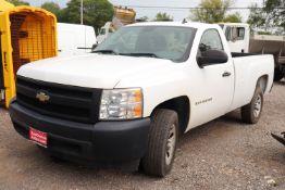 2007 Chevrolet Silverado pickup truck, mileage 77648 VIN #1GCEC14X97Z646718