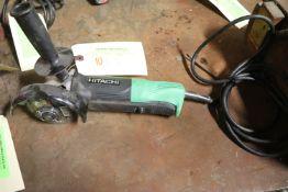 "Hitachi G12SQ 4-1/2"" disc grinder"