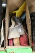 Miscellaneous saws and paintbrushes
