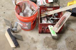 Miscellaneous concrete finishing tools
