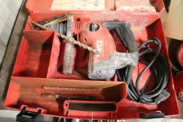 Hilty TE-6SDRS hammer drill in case