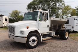2005 Freightliner, VIN #1FVABPBW51HH68, with Swenson PMDV-A10-14GS2DME, serial 0419-1994, mileage 21