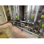 Stainless Steel Water Treatment Pipe Manifold with Control Panel