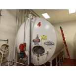 5000 Gallon Horizontal Stainless Steel Jacketed Tank