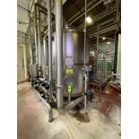 National Water Systems 2700 Gallon Stainless Steel Carbon Tower