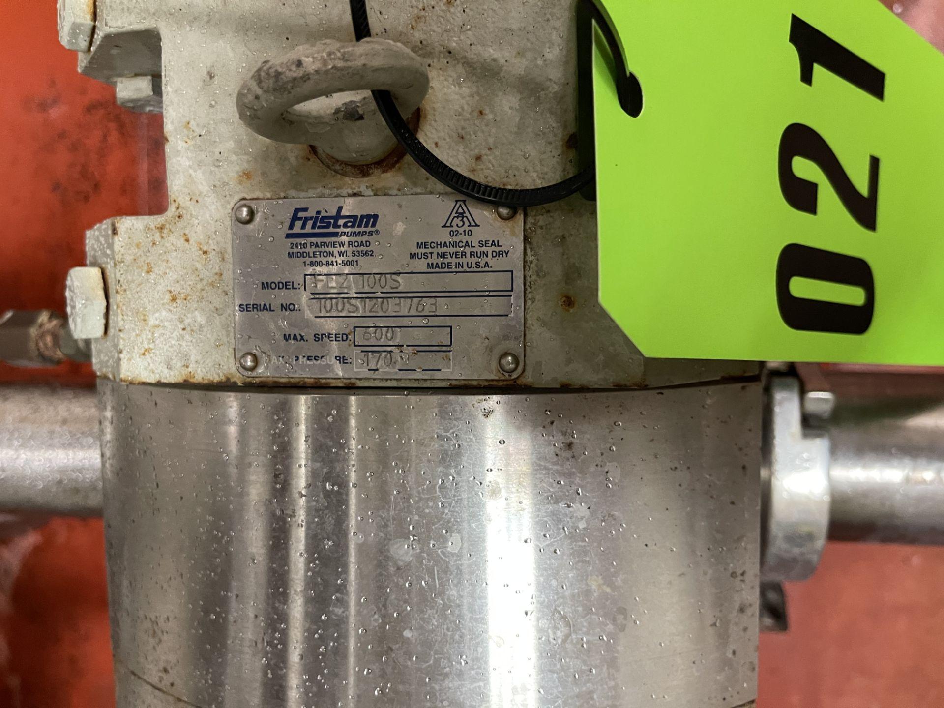 Fristam Positive Displacement Pump - Image 2 of 4