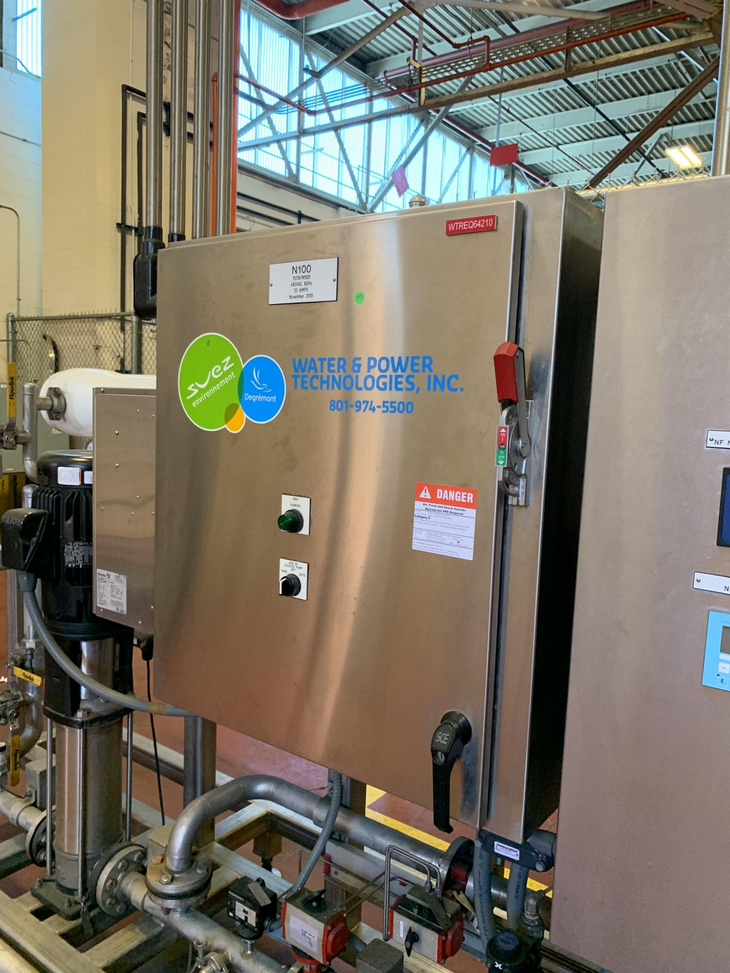2010 Water and Power Technologies RO System - Image 3 of 6