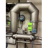 Micro Motion 3in Stainless Steel Mass Flow Meter