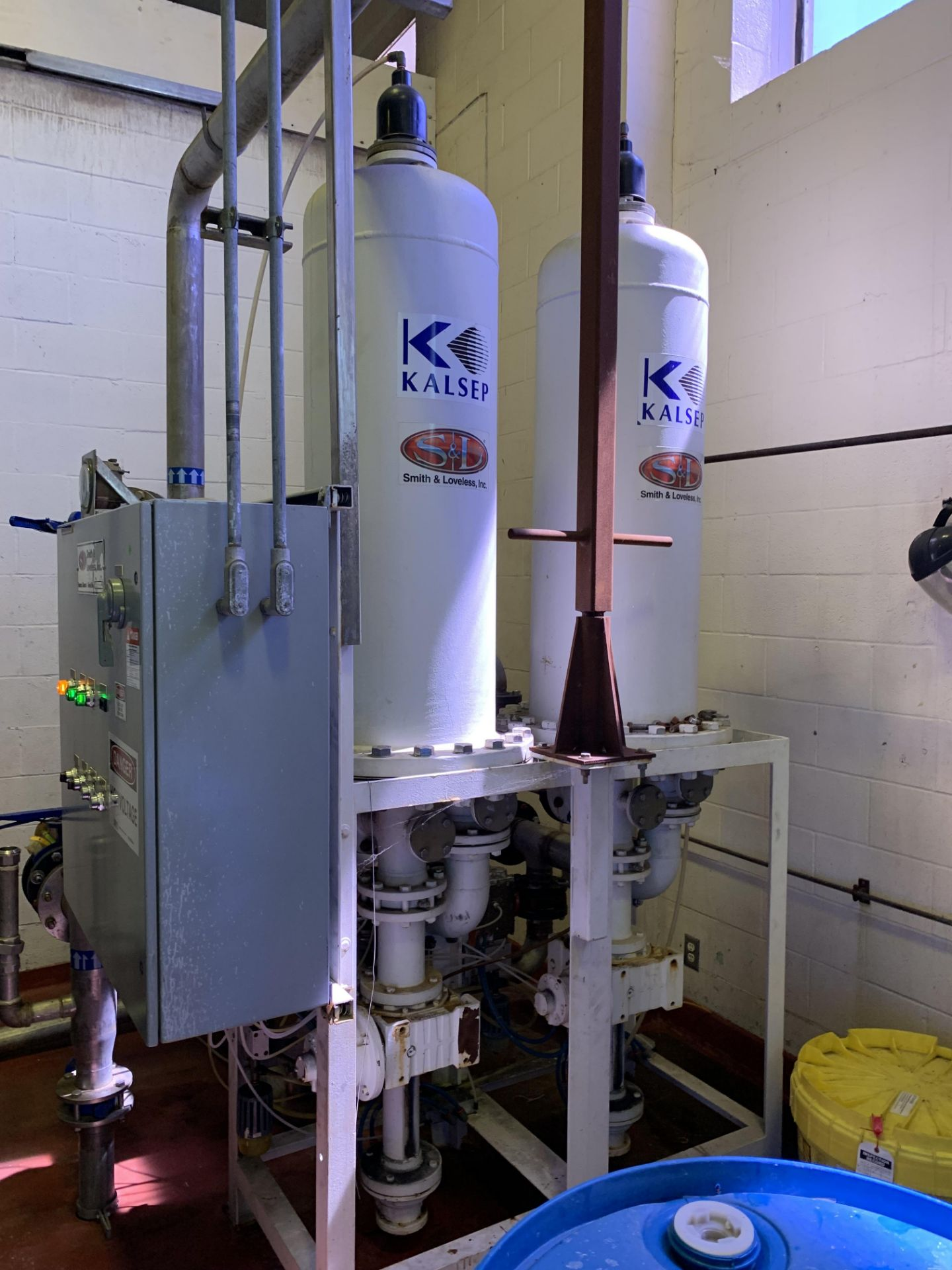 Smith and Loveless Filter Skid