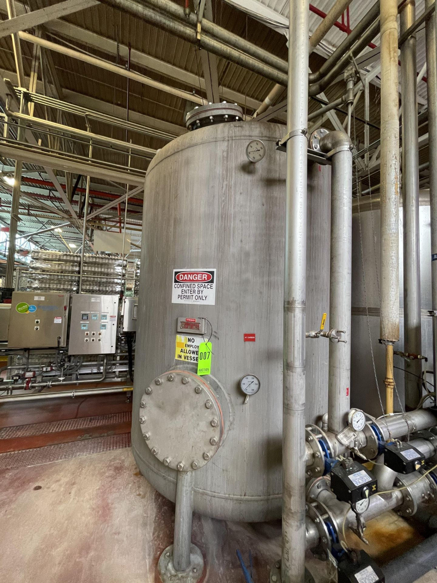 2700 Gallon Stainless Steel Carbon Tower - Image 2 of 5