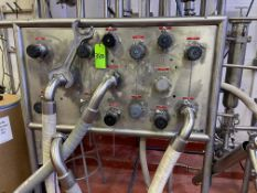 15 Port Stainless Steel Divert Panel