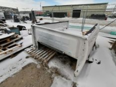 (1) 8' x 6' Truck Bed from a 2012 Dodge RAM 2500, Serial #16992. Located in Council Bluffs, IA