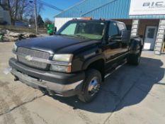(1) 2004 Chevrolet Silverado Pickup, VIN #1GCJK33194F141723, 309851 Miles, 4x4. Located in Mt. P