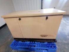 (1) Guardian QuietSource 16,000 Watt Standby Generator, Model 0052830, 120/240 Volts, Serial #