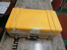 (1) Laser Alignment Laser Beacon model 3900, Serial 390-9993 with ROD-EYE Serial #392-09121. Located