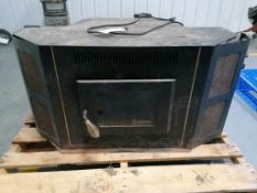 (1) Underwriters Laboratories MH18250 Solid Fuel Room Heater. Located in Mt. Pleasant, IA.