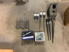 (1) Box of Miscellaneous Drill Bits. Located in Des Moines, IA.