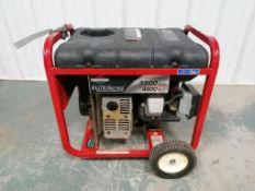 (1) Briggs & Stratton Elite Series Portable Generator, Model 030208, Serial # 1014114011, 605 HP OHV