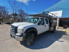 (1) 2006 Ford F-450 Super Duty Utility Truck. VIN #1FDXW46P86EA97593, 263494 Miles, Power Stroke