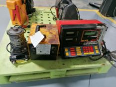 (1) Portable Utility Pump, (1) Bear ARBST alternator regulator battery starter tester & (1)