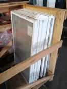 """(8) 24"""" x 42"""" MONARCH Windows. Located in Marion, IA."""
