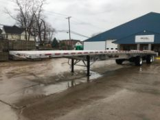 """(1) 2018 WILSON Flatbed 53' X 102"""" Bed, Model AF-1080 SS, VIN #4WW5532A4J6625996 with Ramps,"""