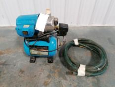(1) Shallow Well Pump, 1HP, Stainless Steel. Located in Mt. Pleasant, IA.