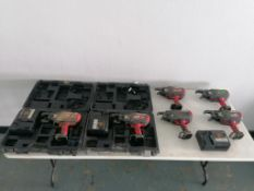 (2) RE-BAR-TIER RB518 with JC925 Battery Charger, (2) RE-BAR-TIER RB397 & (2) RE-BAR-TIER RB517.
