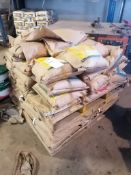 (1) Pallet of 36 Bags of LATICRETE L & M Emeryplate, Emery Aggregate Dry Shake On Surface