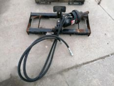 (1) John Deere Auger PA30 for Skid Steer, Serial #1T0PA30XJG0005185. Located in Mt. Pleasant, IA.