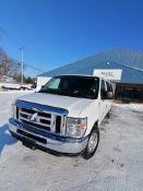 2013 Ford E3500 XLT Super Duty Van, VIN #1FBSS3BL4DDA27197, 243163 Miles, Model E3500XLT Super