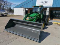 (1) John Deere 4066R Tractor, Serial #1LV4066RLLL408219, 113ÊHours with BERLON HVMB-102 Material