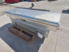(1) Weatherguard Truck Tool box. Located in Mt. Pleasant, IA.