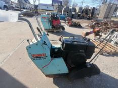 (1) Target PAC IV Walk Behind Concrete Saw, Model PACIV16KM, Serial #266962. Located in Mt.