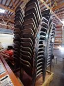 (15) Interior Stacking Chairs. Located in Marion, IA.